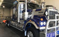 Truck Wash Detailing